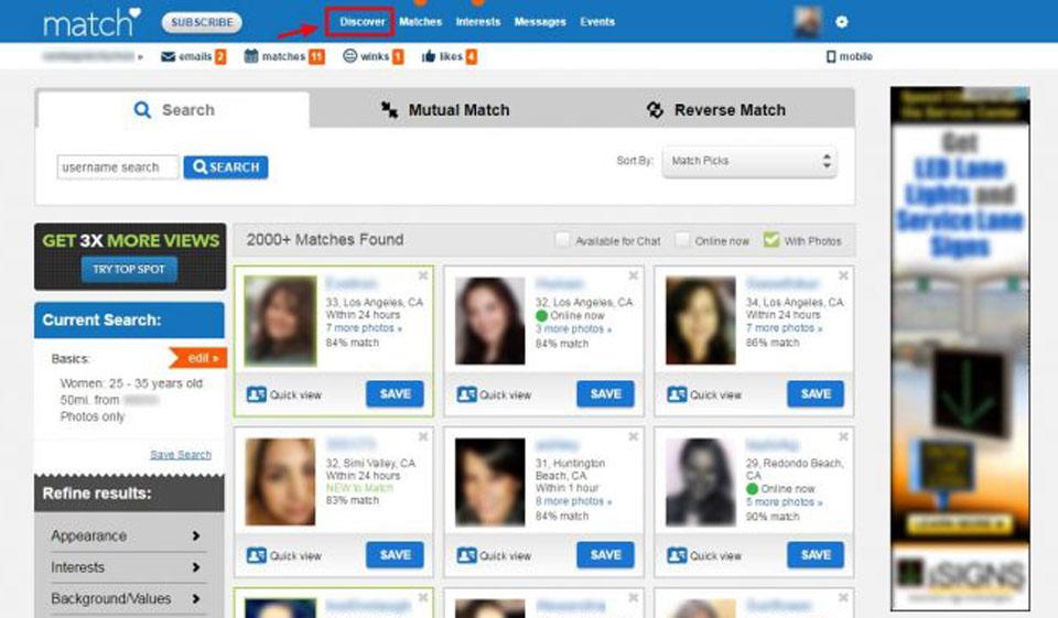 Com usa login match www Online Dating